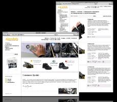 Корпоративный сайт Ejendals в России